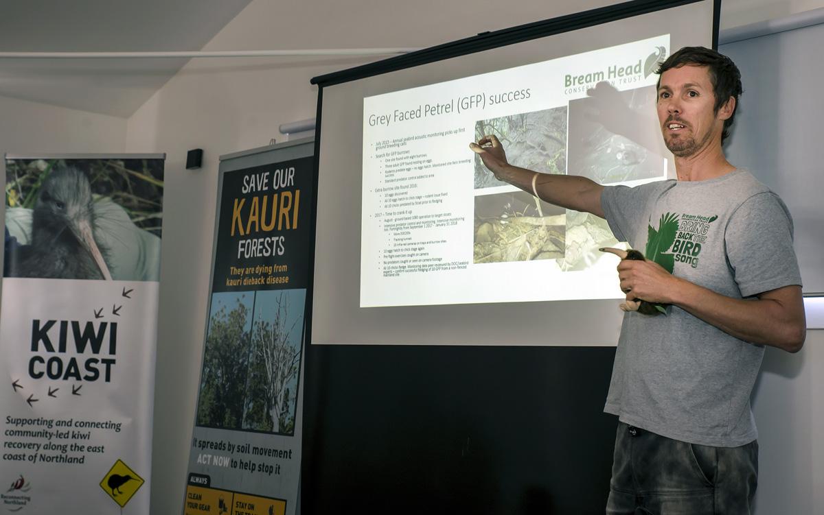 Communities Saving Sensitive Species - initial Grey Faced